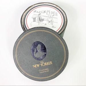 The New Yorker Wine Coasters 6 Restoration Hardwar